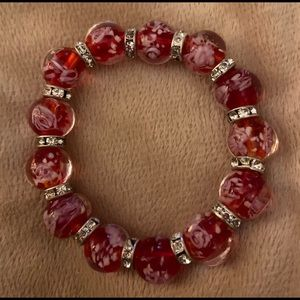 Italian Glass Beaded Braclet